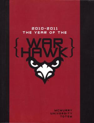 Primary view of object titled 'The Totem, Yearbook of McMurry University, 2011'.