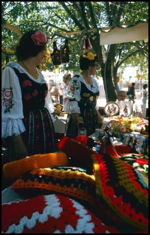Primary view of object titled '[Polish Craft Booth]'.