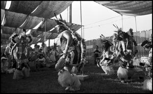 Primary view of object titled '[Alabama-Coushatta Dancers]'.