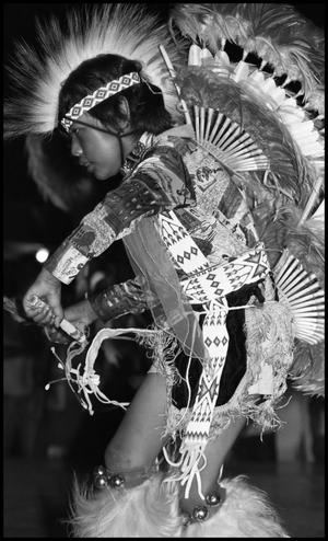 Primary view of object titled '[Alabama-Coushatta Dance Performance]'.