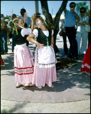 Primary view of object titled '[Italian Folk Dancers]'.