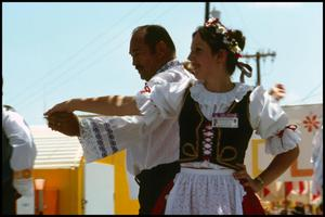 Primary view of object titled '[Russian Folk  Dance Performance]'.