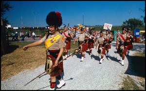 Primary view of object titled '[Institute of Texas Cultures Parade]'.