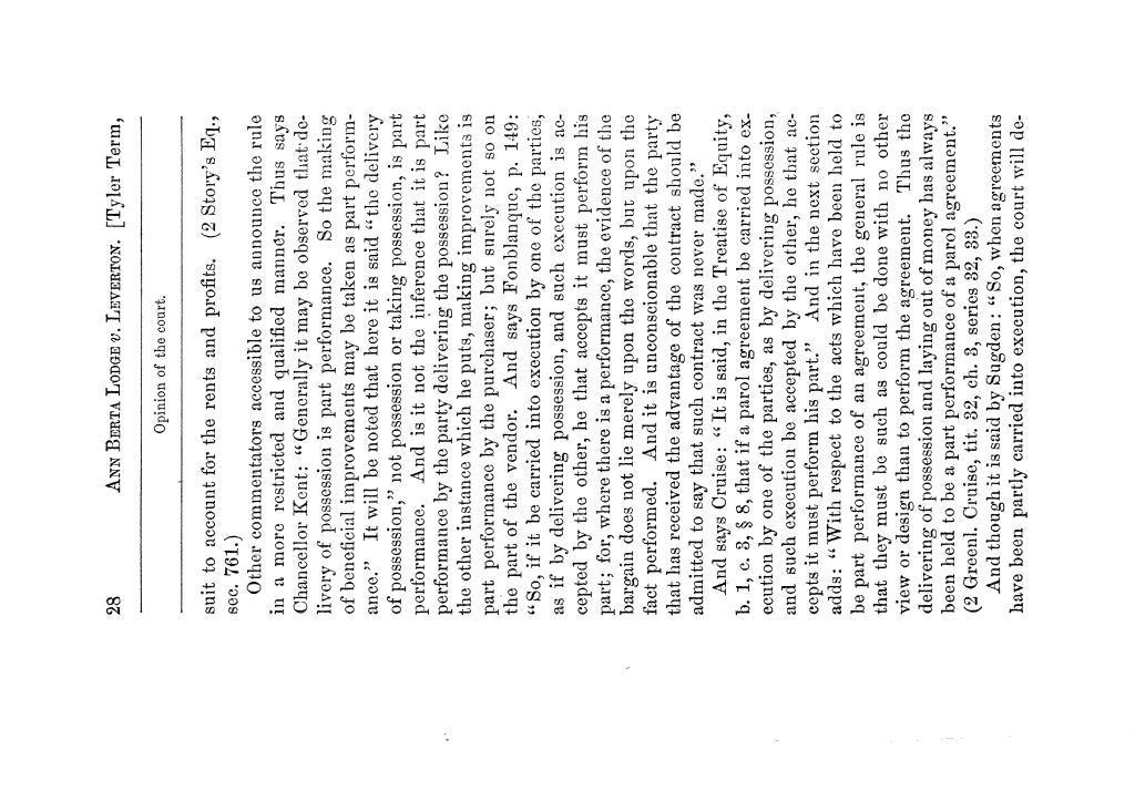 Cases argued and decided in the Supreme Court of Texas, during the latter part of the Tyler term, 1874, and the first part of the Galveston term, 1875.  Volume 42.                                                                                                      28