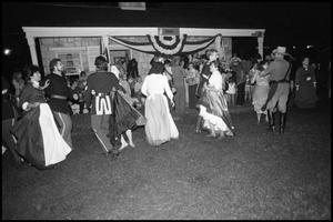 Primary view of object titled '[4th U.S. Memorial Cavalry Regiment Dance at the Texas Folklife Festival]'.