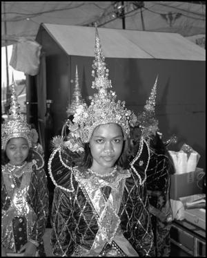 Primary view of object titled '[Cambodian Association of Houston Dancer]'.