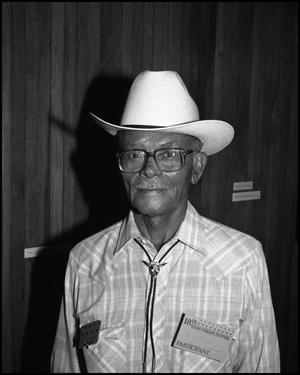 [Portrait of Cowboy K.J. Oliver]