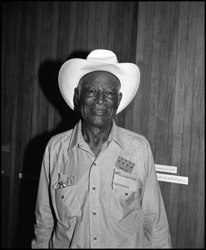 Primary view of object titled '[Portrait of Cowboy Jesse Jones]'.