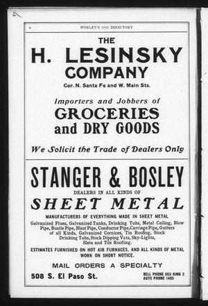 worley texas history