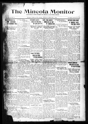 The Mineola Monitor (Mineola, Tex.), Vol. 49, No. 50, Ed. 1 Thursday, February 2, 1922