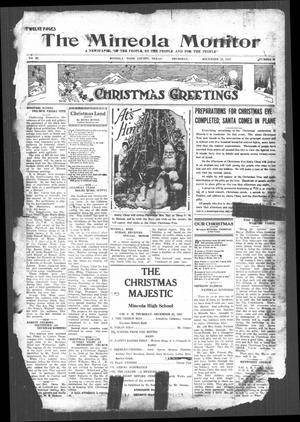 The Mineola Monitor (Mineola, Tex.), Vol. 52, No. 40, Ed. 1 Thursday, December 22, 1927