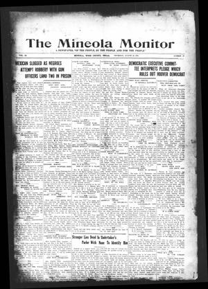 Primary view of object titled 'The Mineola Monitor (Mineola, Tex.), Vol. 53, No. 22, Ed. 1 Thursday, August 16, 1928'.