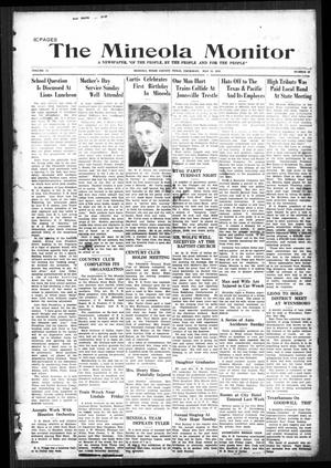 The Mineola Monitor (Mineola, Tex.), Vol. 54, No. 10, Ed. 1 Thursday, May 16, 1929