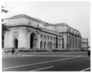 Primary view of object titled '[Union Station in Washington D.C.]'.