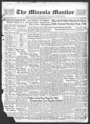 The Mineola Monitor (Mineola, Tex.), Vol. 61, No. 20, Ed. 1 Thursday, August 12, 1937