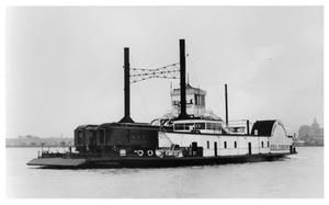 "Primary view of object titled '[""Gouldsboro"" ferry boat]'."