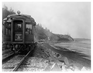 "Primary view of object titled '[""Empire Builder"" at Puget Sound]'."