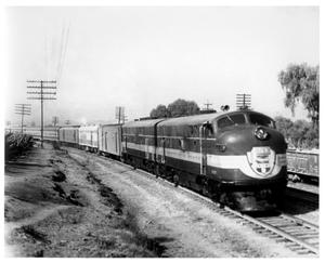Primary view of object titled '[Train between Mexico City and Guadalajara]'.