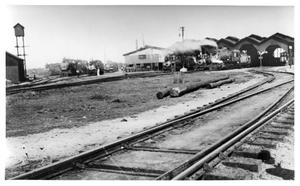 Primary view of object titled '[Engines at Tampico Terminal]'.
