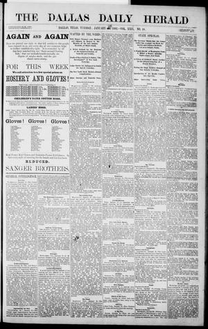 Primary view of object titled 'The Dallas Daily Herald. (Dallas, Tex.), Vol. 29, No. 48, Ed. 1 Tuesday, January 24, 1882'.