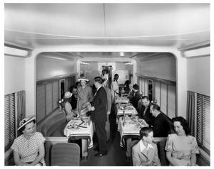 Primary view of object titled '[Missouri Pacific Railroad - Dining Car]'.