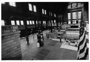 Primary view of object titled '[Concourse Area of Chicago Union Station]'.