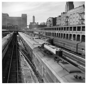 [Six Tracks of the Chicago Union Station]