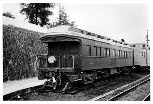 Primary view of object titled '[Private Rail car at Jalapa, Mexico]'.