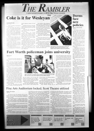 The Rambler (Fort Worth, Tex.), Ed. 1 Wednesday, September 11, 1996