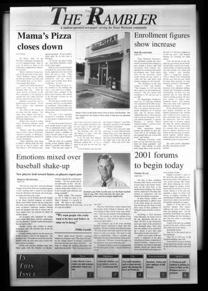 The Rambler (Fort Worth, Tex.), Ed. 1 Wednesday, September 25, 1996