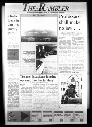 The Rambler (Fort Worth, Tex.), Vol. 79, No. 18, Ed. 1 Wednesday, October 23, 1996