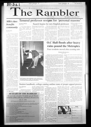 Primary view of The Rambler (Fort Worth, Tex.), Vol. 80, No. 3, Ed. 1 Thursday, February 13, 1997