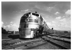 "Primary view of object titled '[""Texas Zephyr"" in Fort Worth]'."