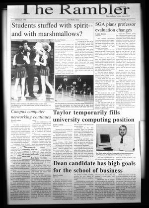The Rambler (Fort Worth, Tex.), Vol. 81, No. 2, Ed. 1 Wednesday, February 4, 1998