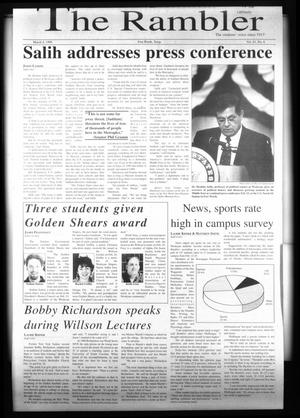 The Rambler (Fort Worth, Tex.), Vol. 81, No. 6, Ed. 1 Wednesday, March 4, 1998