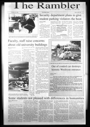 The Rambler (Fort Worth, Tex.), Vol. 81, No. 18, Ed. 1 Wednesday, October 21, 1998