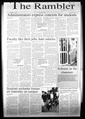 The Rambler (Fort Worth, Tex.), Vol. 81, No. 21, Ed. 1 Wednesday, November 11, 1998