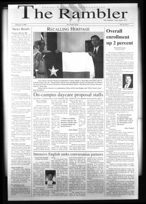 The Rambler (Fort Worth, Tex.), Vol. 83, No. 3, Ed. 1 Wednesday, February 9, 2000
