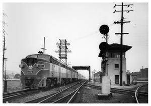 "[""Sunset Limited"" at Los Angeles Terminal Station]"