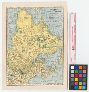 Primary view of object titled 'Quebec and coast of Labrador.'.