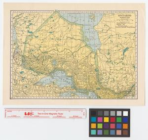 Primary view of object titled 'Ontario, northern part.'.