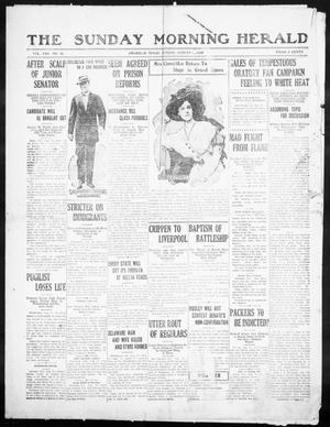 Primary view of object titled 'The Sunday Morning Herald. (Amarillo, Tex.), Vol. 22, No. 30, Ed. 1 Sunday, August 21, 1910'.