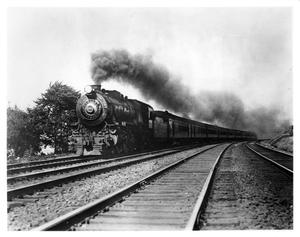 "Primary view of object titled '[""The Pennsylvainia Limited"" westbound]'."
