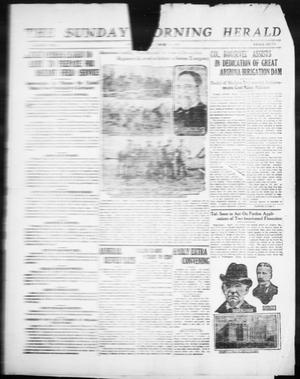 Primary view of object titled 'The Sunday Morning Herald. (Amarillo, Tex.), Ed. 1 Sunday, March 19, 1911'.