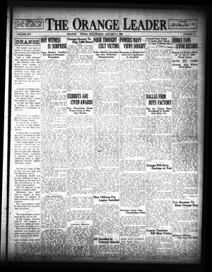 Primary view of The Orange Leader (Orange, Tex.), Vol. 16, No. 71, Ed. 1 Wednesday, October 9, 1929