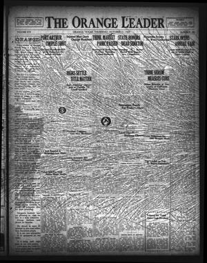 Primary view of The Orange Leader (Orange, Tex.), Vol. 16, No. 88, Ed. 1 Thursday, October 31, 1929