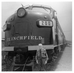 Primary view of object titled '[Clinchfield's Railroad's Special Excursion train]'.