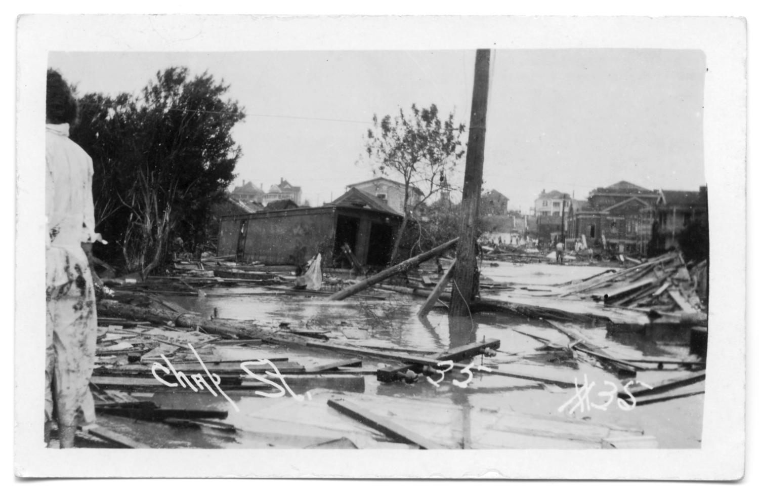 [Devastation in Corpus Christi after a Hurricane]                                                                                                      [Sequence #]: 1 of 2