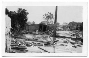 [Devastation in Corpus Christi after a Hurricane]