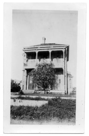 Primary view of object titled '[Two-Story Home]'.